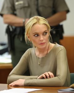 The Many Faces Of Lindsay Lohan In Court