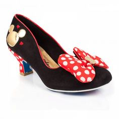 Whoopi Goldberg Spotted in Irregular Choice Minnie Mouse Heels at Minnie Mouse Heels, Mickey Mouse, Mickey Shoes, Disney Mickey, Pump Shoes, Shoe Boots, Shoe Bag, Disney Heels, Disney Toms