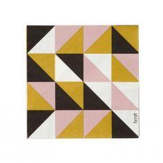 Multicolor Geo Paper Napkins