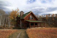 Beautiful rustic cabin!