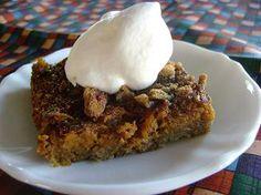 Pumpkin Pie Pecan Bars