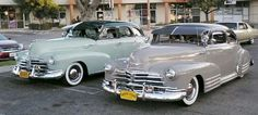 """""""48 Chevy Fleetliner and """"47 Chevy Fleetmaster"""