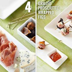 Grilled Prosciutto Wrapped Figs from Smucker's ®
