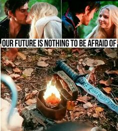 """Nothing to be afraid! 5x08 """"Birth"""" #CaptainSwan #OnceUponATime #ouat #once"""