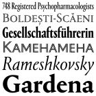Typographica is a review of typefaces and type books, with occasional commentary on fonts and typographic design.