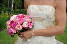 #Bruidsboeket #roze #fuchsia