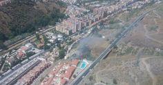 Las llamas queman una zona forestal junto a la Alhambra de Granada Declarado un nuevo incendio cerca del que arrasó la pasada semana el bosque de Riotinto