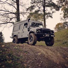 Land Rover Defender 110 Td4 Sw Se Extreme adventure sports. Spectacular.