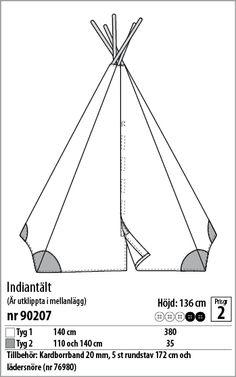 Indiantält - 90207 - Stoff & Stil