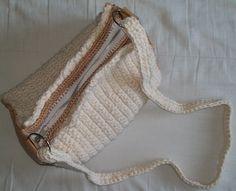 bolso juvenil mezcla algodón y semi cuero