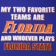 go Gators! @Tarah Merchant....I seen yours. Now how do you like mine(: