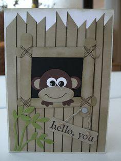 MaKing Papercrafts: Cheeky Monkey!