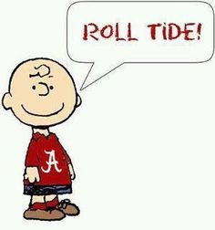 Bama football and Charlie Brown! My two favs together. This will be in my classroom this year! <3