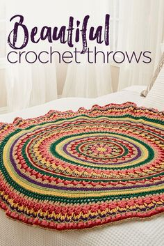 Beautiful Crochet Throws | Red Heart