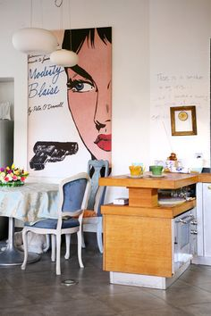 loft in Zagreb - Modesty Blaise is the book Vincent Vega was reading before he was killed.