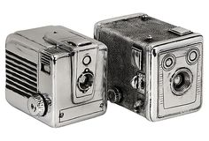 thought these vintage Camera Boxes from One Kings Lane were kind of interesting.