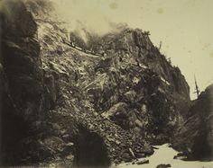 William Henry Jackson - Cañon of the Rio las Animas, c.1882-1886