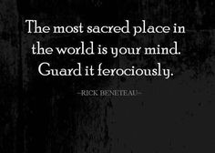 guide your mind andguard it