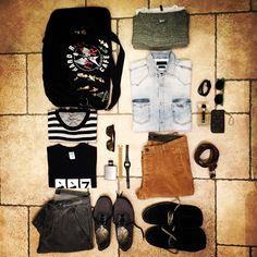 My outfits to Venice
