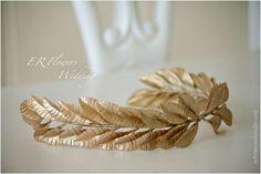 ER Flowers ArtStudio....Bridal head piece...