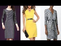 66c5e9257 VESTIDOS ELEGANTES DE MODA Nuevas tendencias de moda otoño invierno 2019