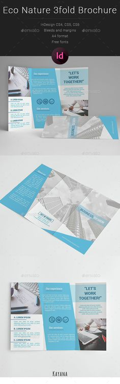 Business Multipurpose 3fold Brochure Template InDesign INDD. Download here: http://graphicriver.net/item/business-multipurpose-3fold-brochure/14856755?ref=ksioks