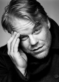 Philip Seymour Hoffman. Quite different from the last 'look' !