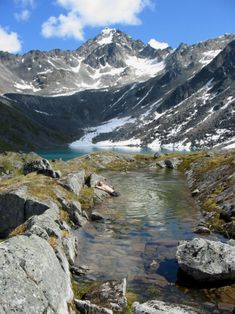 Talkeetna Mountains - Alaska - USA (by Paxson Woelber)