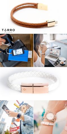 Keep your phone charged & in Style! www.torrobracelets.com
