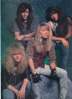 Because your boyfriend will never have interest in joining a hair band. 17 Reasons To Thank God Your Hair Isn't In The 80s Hair Metal, Hair Metal Bands, 80s Hair Bands, 1970s Hairstyles, Cool Hairstyles, 1980s Hair, Arched Eyebrows, The Wedding Singer, Glam Metal