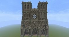 Gothic Cathedral (world download) Minecraft Project