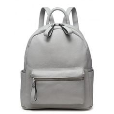 SHORTY SWING MY WAY CONCRETE GREY BACKPACK - THE IN CROWD - Shop... ❤ liked on Polyvore featuring bags, backpacks, backpack, grey bag, gray bag, day pack backpack, cement bags and backpack bags