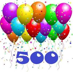 We reached over 500 fans on facebook. That's amazing !!!