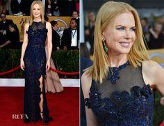 Nicole Kidman In Vivienne Westwood - 2013 SAG Awards
