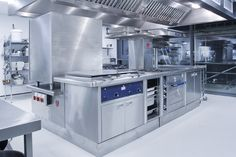 Commercial kitchen design - One of our completed commercial kitchen projects in a school