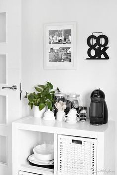 Ideas para una coffee station en casa | Decoración - #decoracion #homedecor #muebles