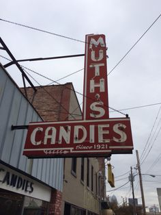 I don't always buy candy but when I do I buy local. At Muth's in Louisville Kentucky