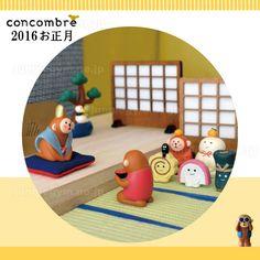 デコレ(decole) コンコンブル(concombre)まったりお正月マスコット:使用例2
