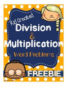 Multiplication and Division Word Problem Task Cards Grade Math Center Free 3rd Grade Division, 3rd Grade Math, Activity Centers, Math Centers, Math Task Cards, Math About Me, Multiplication And Division, Teaching Math, Maths