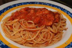 Spaguetti a la Bellini