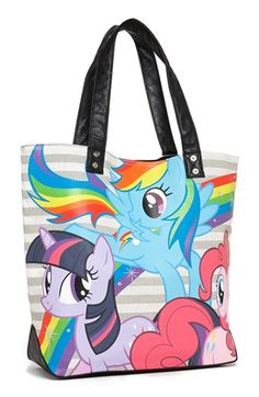 My Little Pony™ Glittery Canvas Tote http://rstyle.me/n/dwrvmnyg6