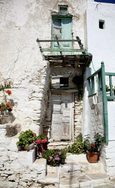 Old Door.. Folegandros Island, Greece (by James Maher Photography)