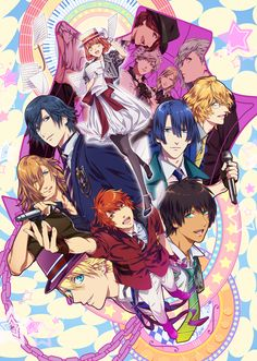 Revelados diseños de personajes del Anime Uta no Prince Sama: Maji Love Revolutions.