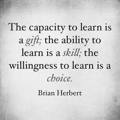 Still learning..