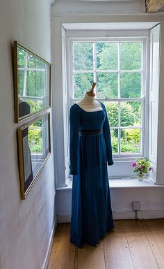 Jane Austen museum, Chawton. The sitting room.