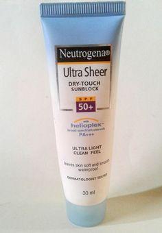 Cute facial sunscreen 50 fine