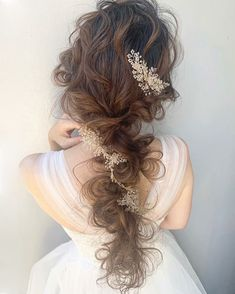 Bride Hairstyles, Pretty Hairstyles, Easy Hairstyles, Hair Arrange, Ulzzang Korean Girl, Wedding Hair Inspiration, Hair Designs, Hair Makeup, Braids