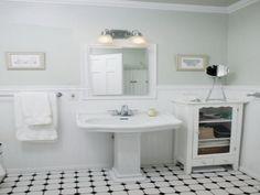 Suzie Angie Hranowski White Yellow Vintage Bathroom Design With White Subway Tiles White Design Bath Pinterest Vintage Bathrooms