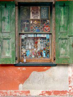 Voodoo window.  New Orleans