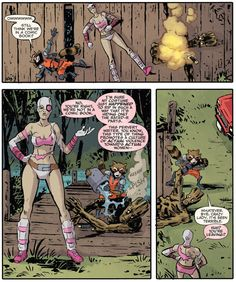 Rocket Raccoon and Groot #9  Best Way to Know if You're in a Comic Book